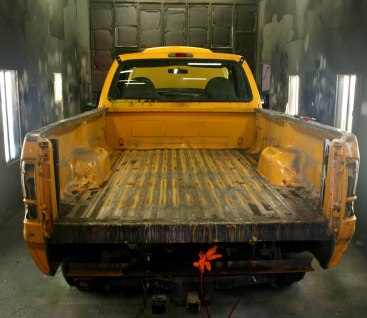 Ford 250 Tough Coat Bed Liner