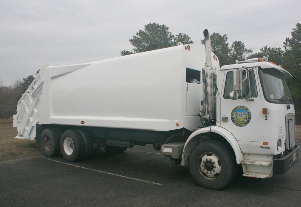 Point Pleasant Beach Garbage Truck