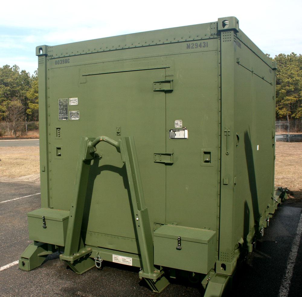 Rigid Maintenance Complex Shelter