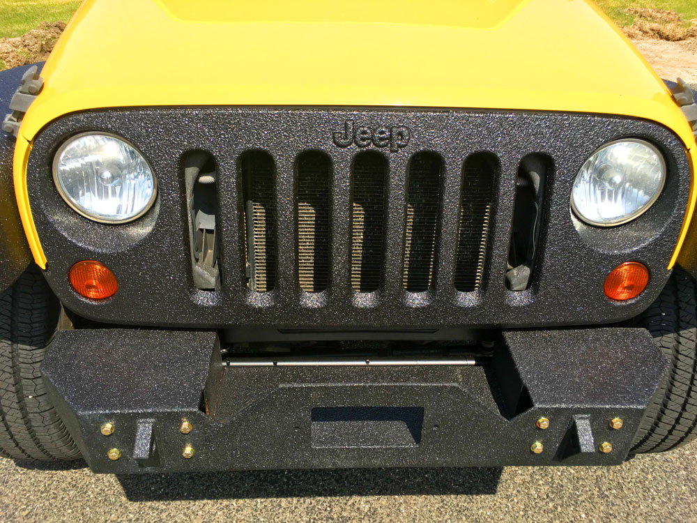 Tough Coat Bed Liner Tectyl Undercarriage Jeep