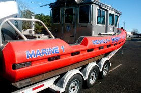 Monmouth County Sheriff Rescue Boat