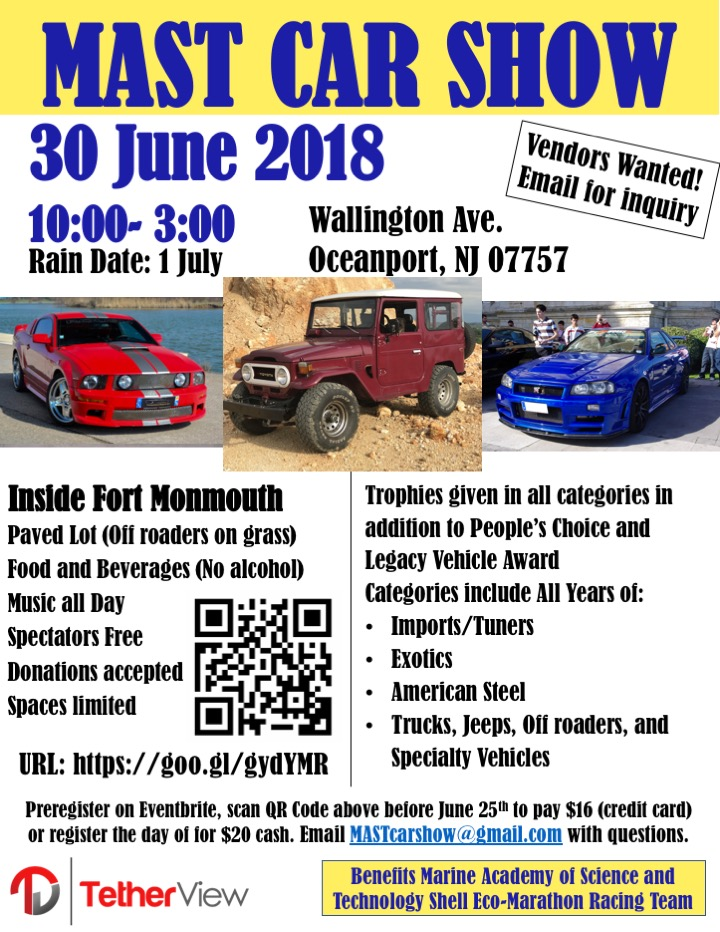 Feature Friday MAST Car Show MILSPRAY - Car shows in nj