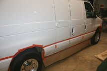 Ford Van Big Dog Coatings Bed Liner