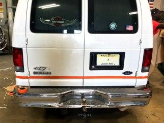 Ford Van Big Dog Coatings Bed Liner