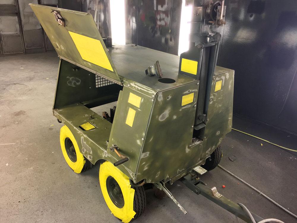 FL-1D Light Cart Aerospace Ground Equipment