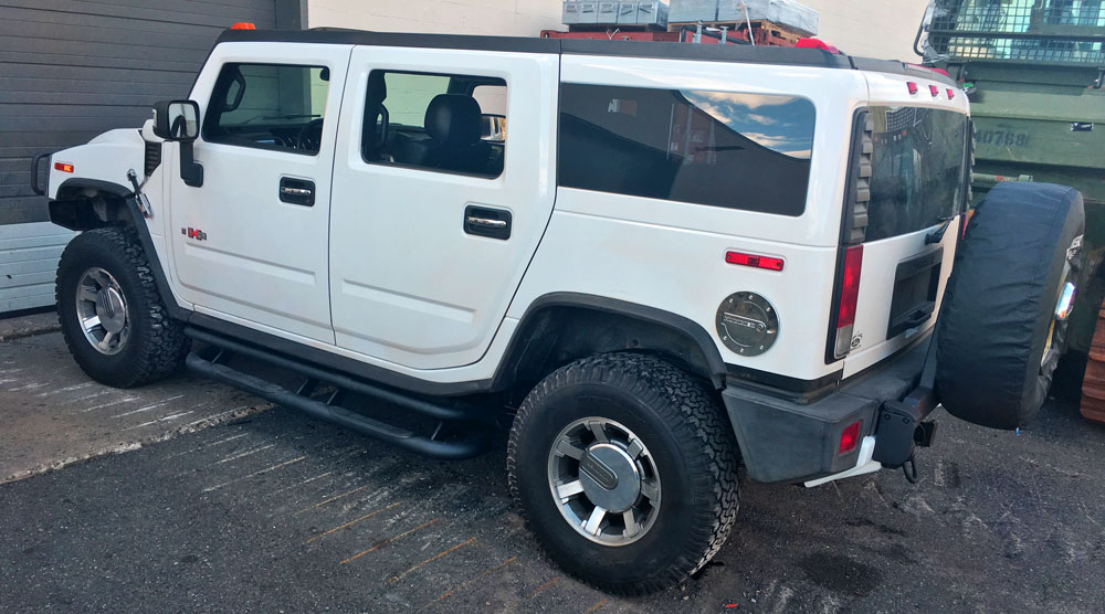 hummer tectyl undercarriage coatings