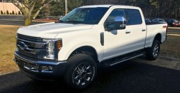 Ford F250 Tectyl Undercarriage Coatings