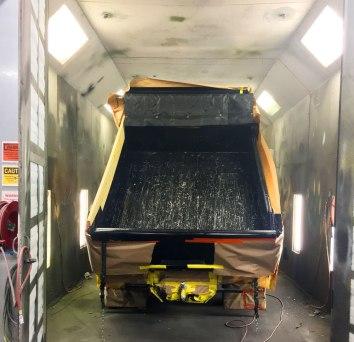 Dump Truck Tectyl Undercarriage