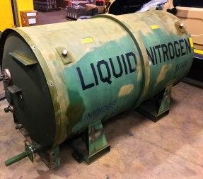 Nitrogen Tank Naval Warfare Center