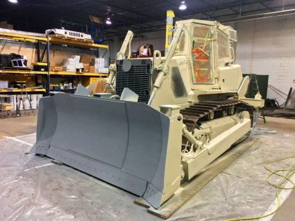 Medium Crawler Tractor USMC
