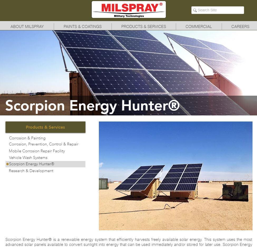Scorpion Energy Hunter MILSPRAY