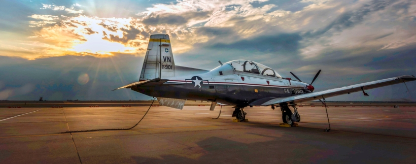 Vance AFB Conducts Night Flying Operations