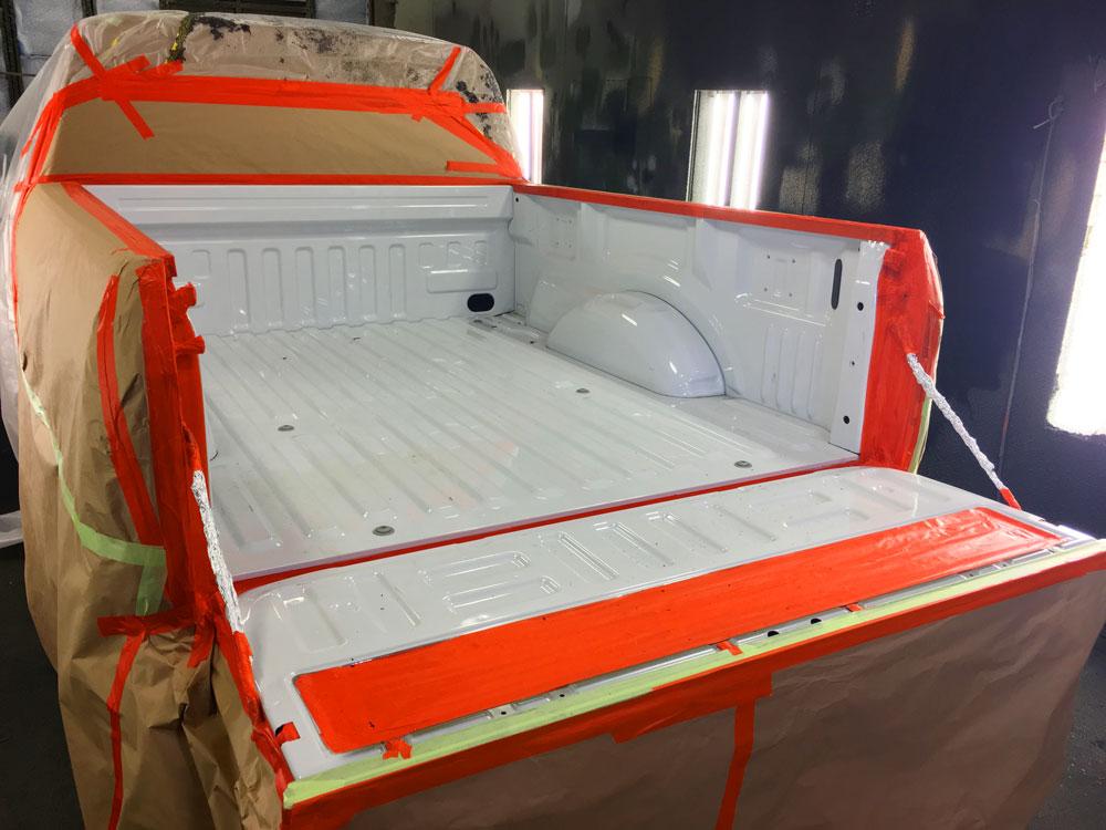 Tough Coat Bed Liner Pickup Truck