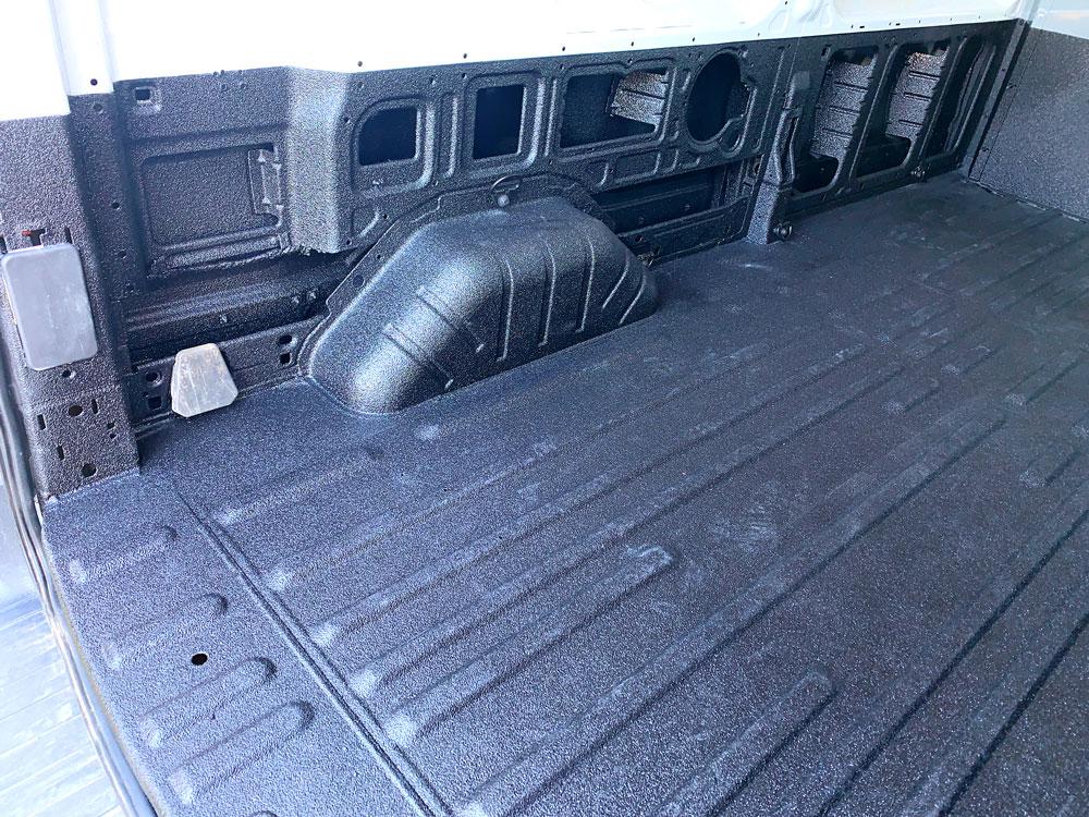 Ford Transit Van Tough Coat Bed Liner