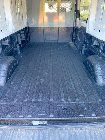 Ford Transit Van Tough Coat Bed Liner