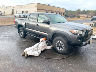 Rustproofing CPC Toyota Tacoma