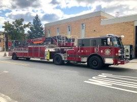 Rustproofing Harriosn Fire Department