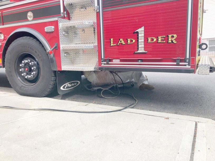 Rustproofing Harriosn Fire Department (3)