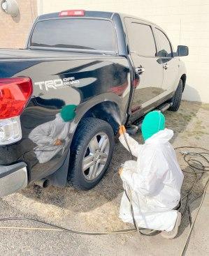 rustproofing Toyota tundra