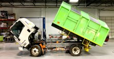 Tectyl Undercarriage Coatings Recycling Truck
