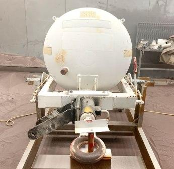 TMU 70 Oxygen Tank - Lakehurst
