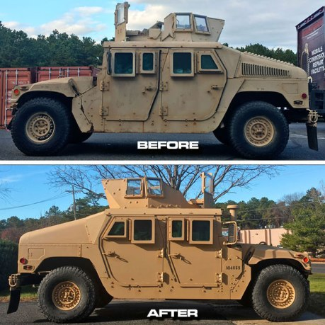 Before-After-HUMVEE