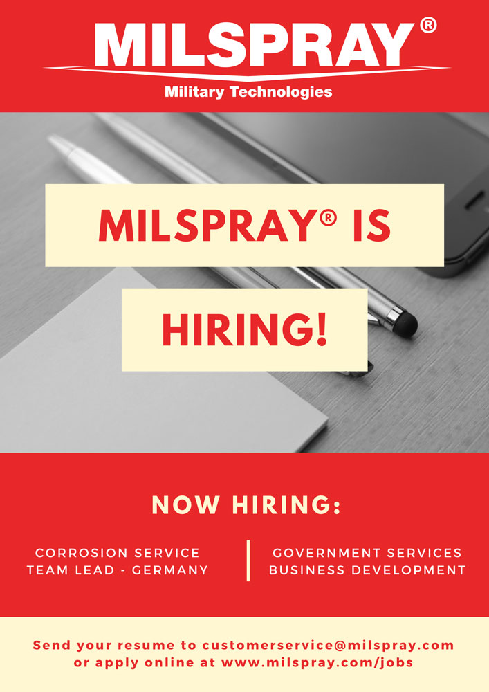 Now Hiring-MILSPRAY®