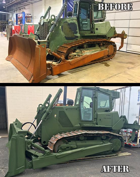 USMC Bulldozer before after 2 (presentation)