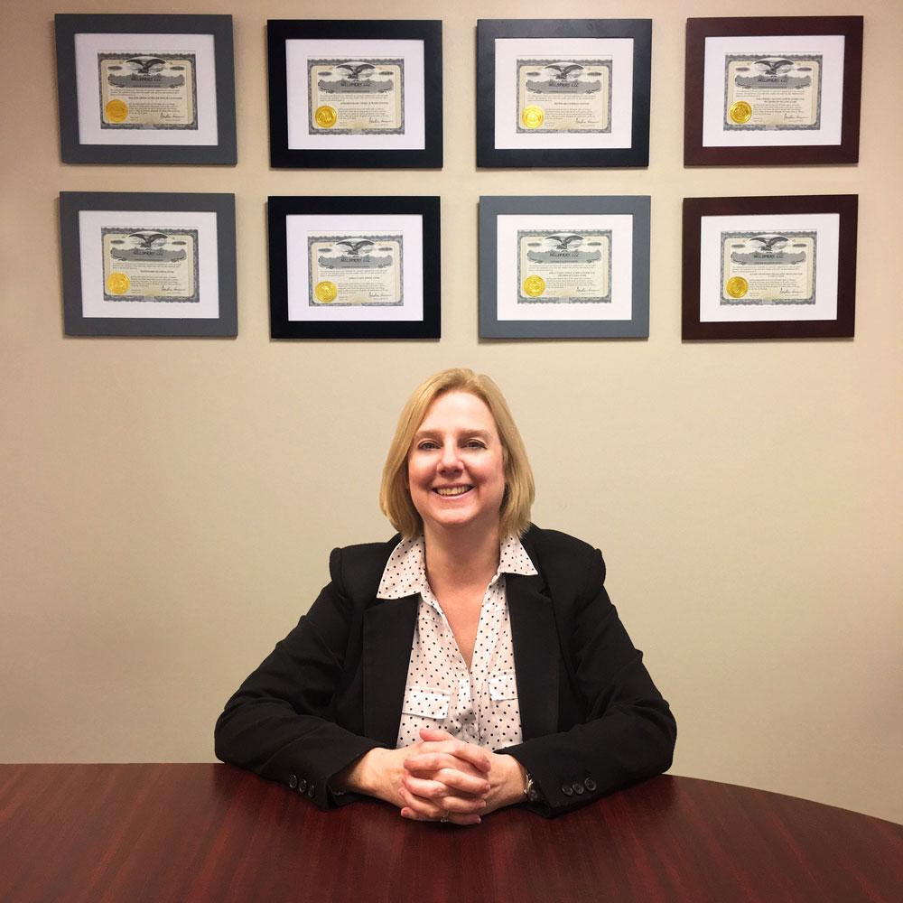 CEO & President, Liz Shivers MILSPRAY