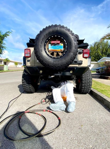 Rustproofing - Guam