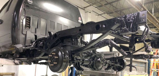 Chevy Silverado Undercarriage Bed Liner