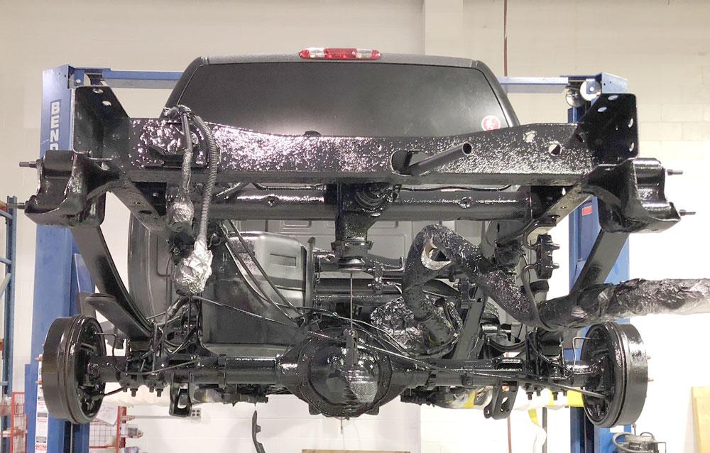 Chevy Silverado Undercarriage Bed Liner