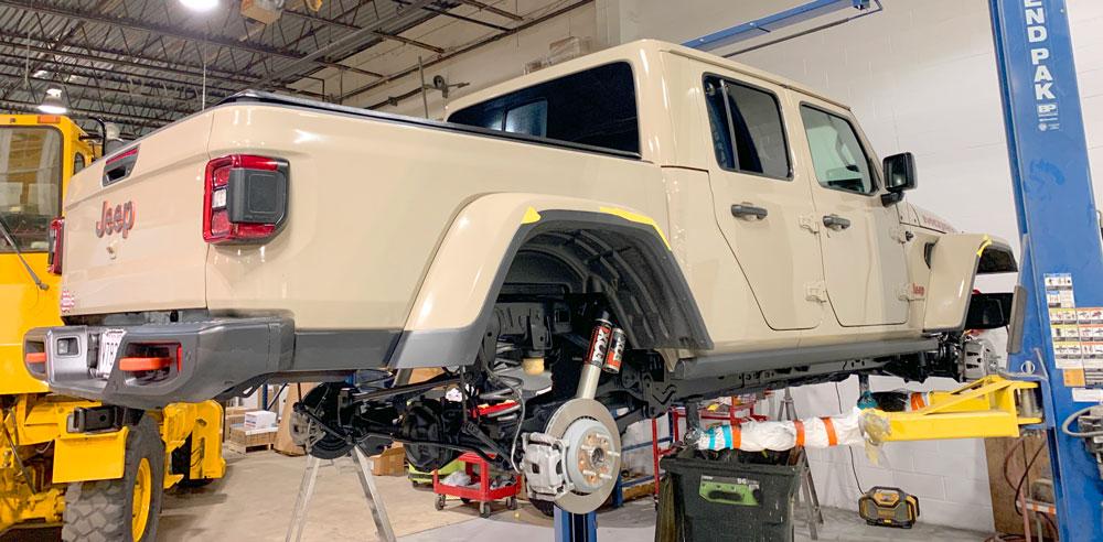 Jeep Gladiator Undercarriage