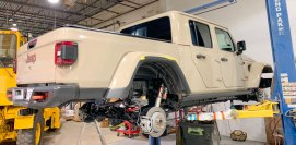 Jeep Gladiator Undercarriage