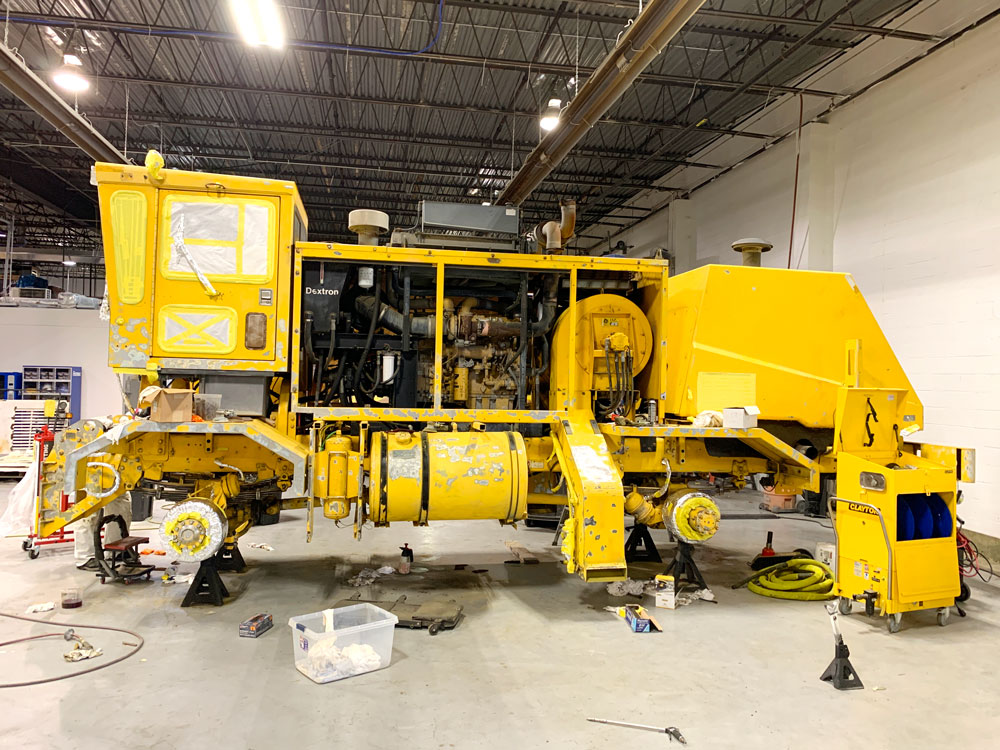 Snow Sweeper Dover AFB (Before)