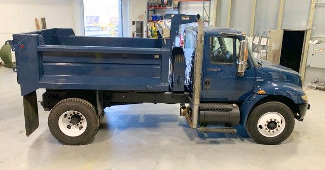Dump Truck Dover Air Force Base Header