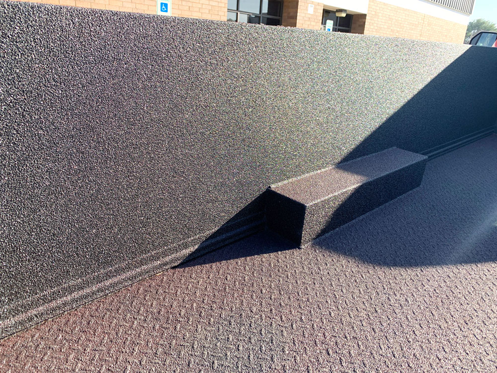 Ford F-550 Bedliner After
