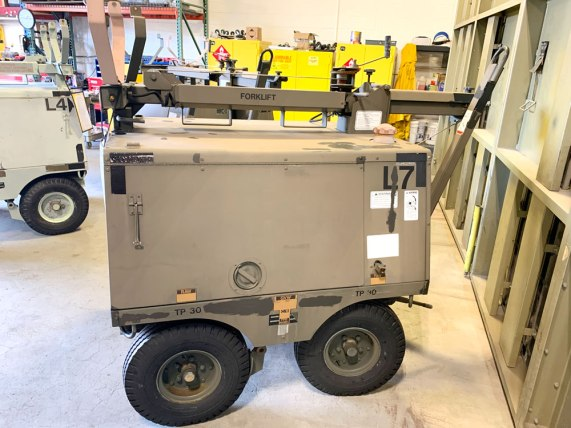 AGE Light Cart - New York Air National Guard (Before)