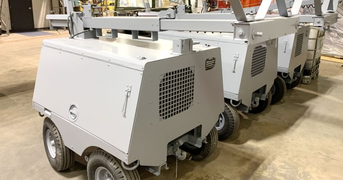 AGE Light Cart - New York Air National Guard (Header)