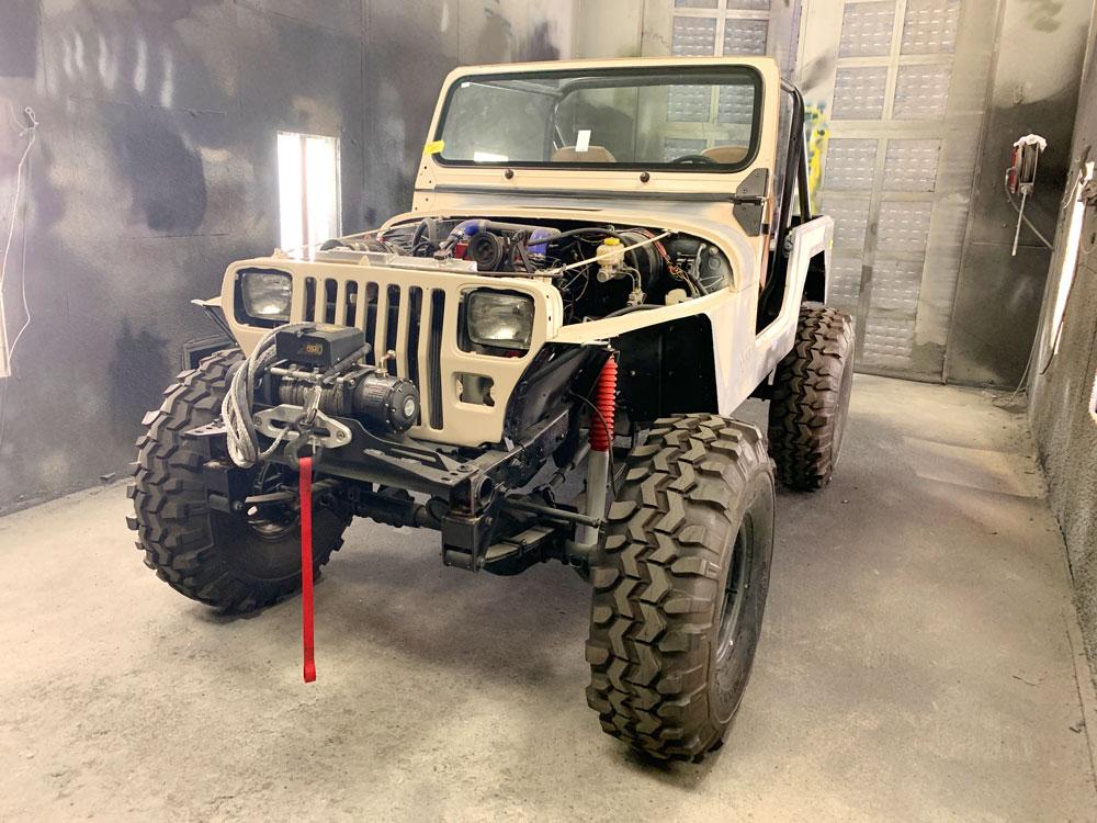 Jeep Tough Coat Before