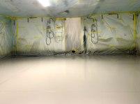 Leidos Expandable Shelter - Before (MILSPRAY)