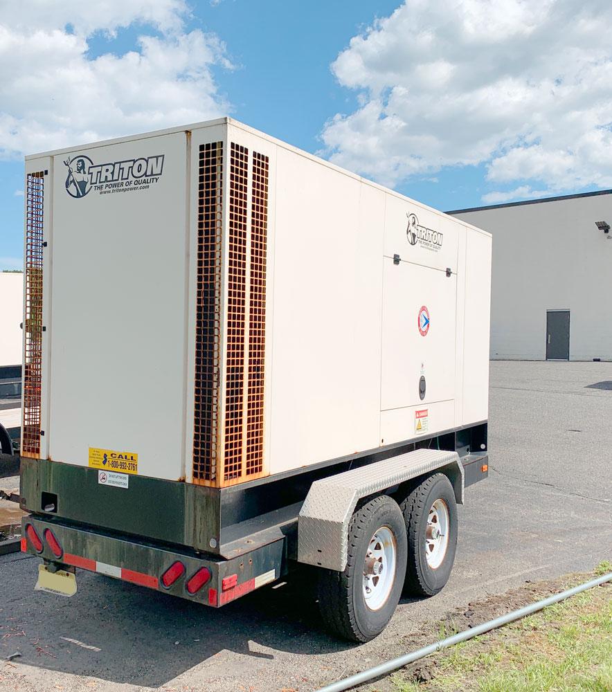 NJDOT Storm Relief Generator Trailers (Before)