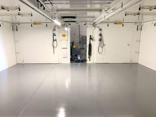 Leidos Expandable Shelter - After (MILSPRAY)